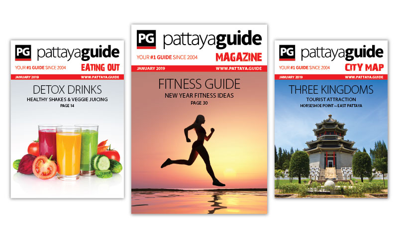 Pattaya Guide Covers January 2019