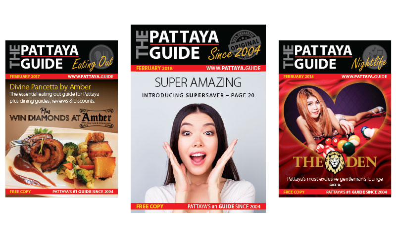 The Pattaya Eating Out Guide February 2018