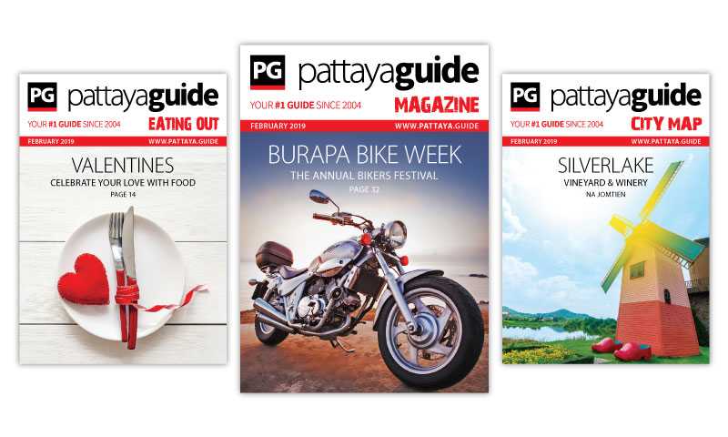 Pattaya Guide Covers February 2019