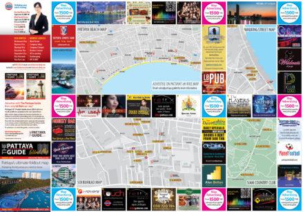 Pattaya Guide March 2018 Map Outside