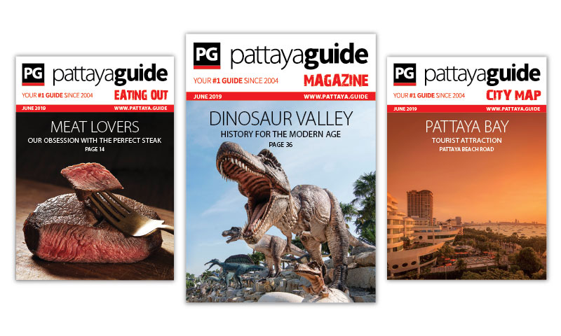 Pattaya Guide Covers June 2019