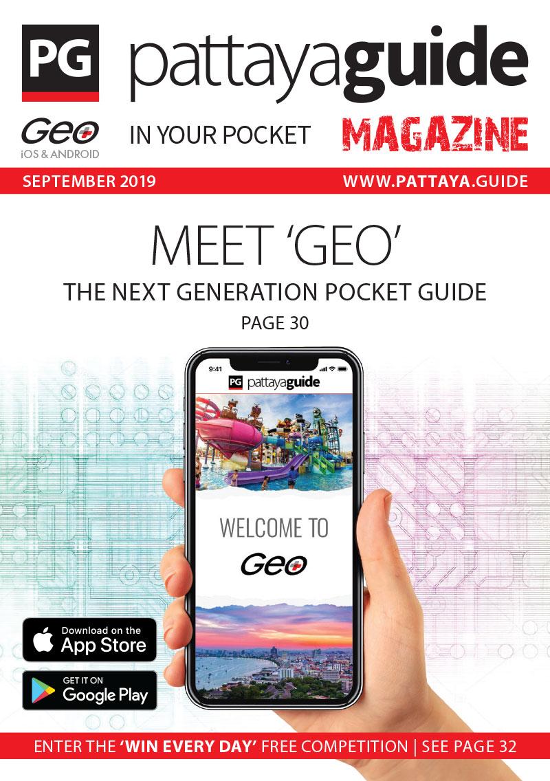 Pattaya Guide Magazine - September 2019
