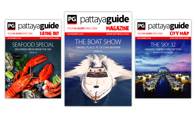 Pattaya Guide Covers November 2018