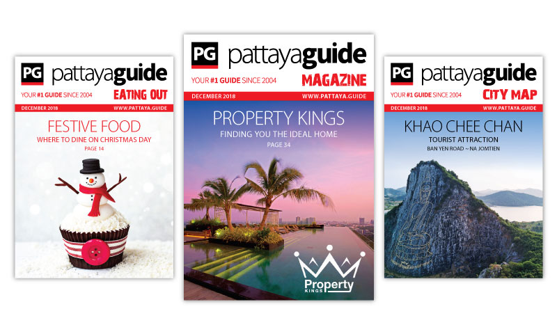 Pattaya Guide Covers December 2018
