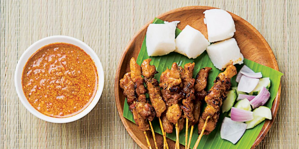 Satay Sticks – Pulling Grilled Meat Off a Stick