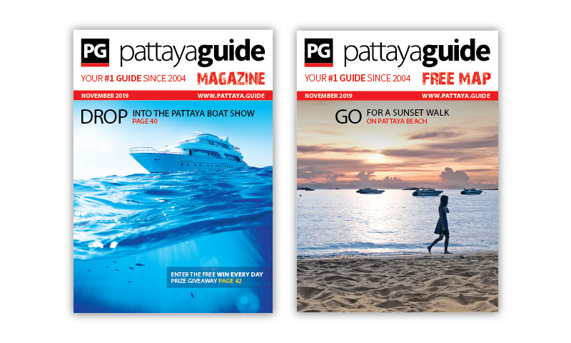 Pattaya Guide Covers November 2019