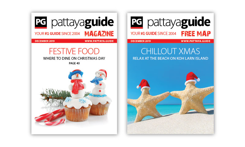 Pattaya Guide Covers December 2019