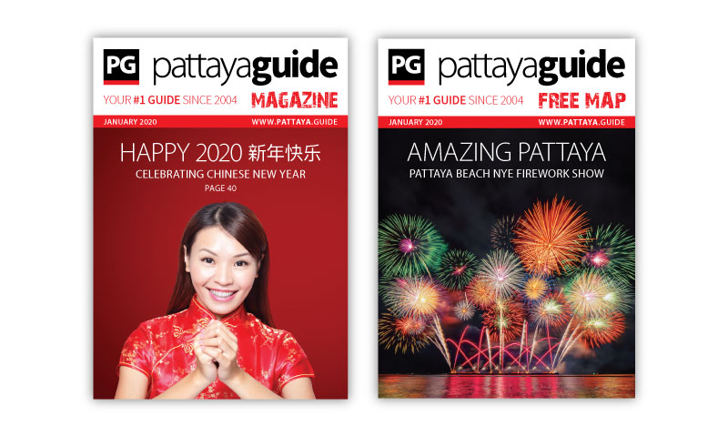 Pattaya Guide Covers January 2020
