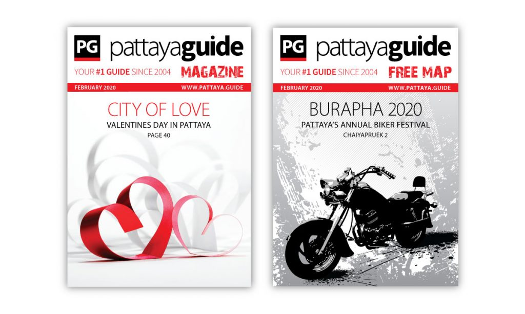 Pattaya Guide Covers February 2020